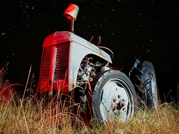 A well-maintained tractor can still be performing well after 30 or 40 years.