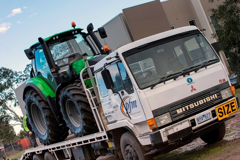 Deutz 6160C Predelivery After going through its final quality check