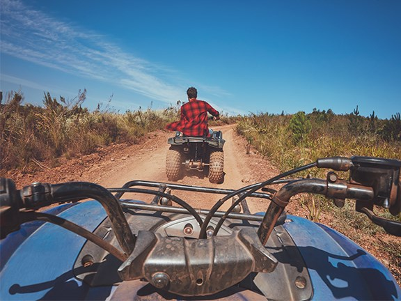Farmers can now claim up to $1200 to upgrade or modify their quad bikes.