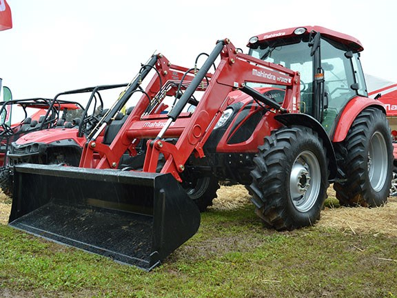 The Mahindra mForce 100P is built to be simple and reliable. And red