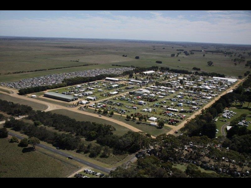 South East Field Days site