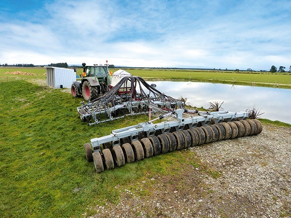 Taege 6m air seeder drill tine