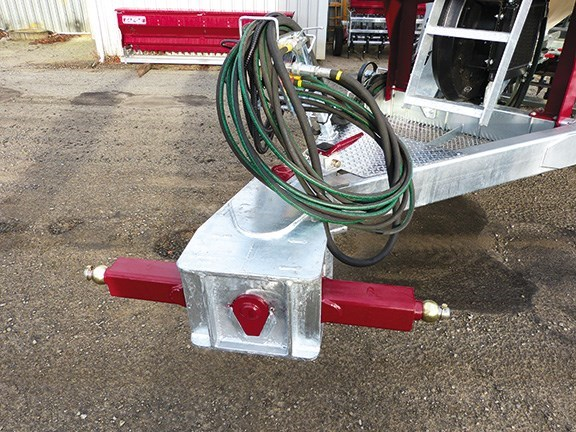Taege 6m air seeder two point linkage