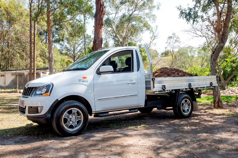 The Genio 4x2 single cab offers a full payload of 1260kg