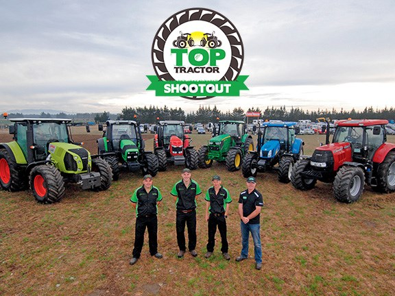 A scene from last year's Farms & Farm Machinery Top Tractor Shootout.