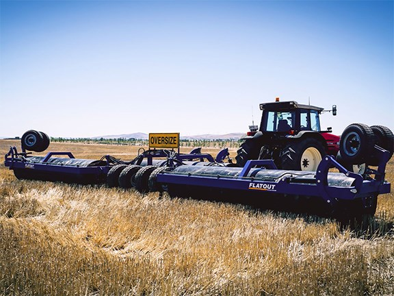 Oz Value Ag's Tri-Plex Roller has been specially designed for low-lying crops and is now available in Australia.