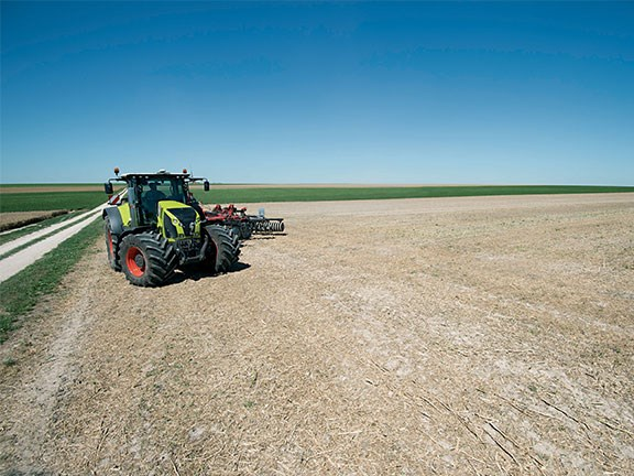 Nothing around to gauge your distances? Claas Turn In fixes that