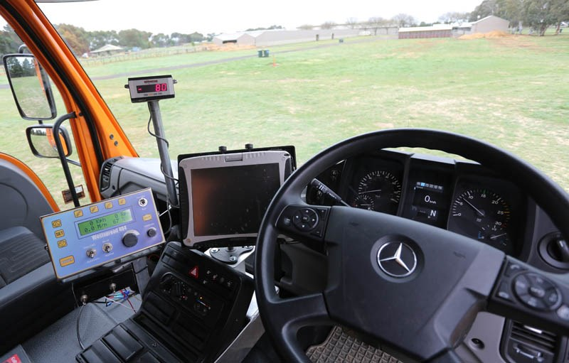 Unimog U430 in cabin steering 4