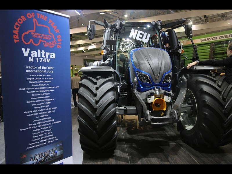 Valtra design winner