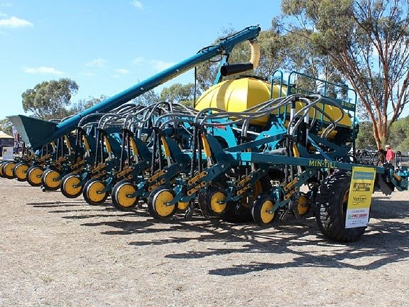 The Equalizer Min-Till seeder from South Africa made an appearance at Wimmera Machinery Field Days 2016