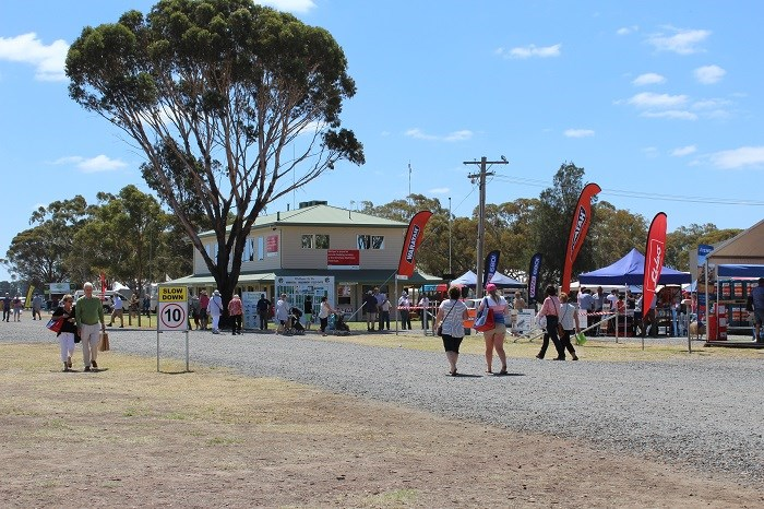 Wimmera field days visitors