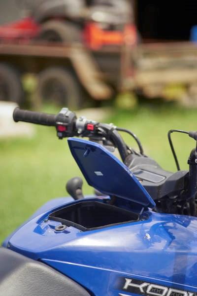 2016 Yamaha Kodiak 700 ATV review