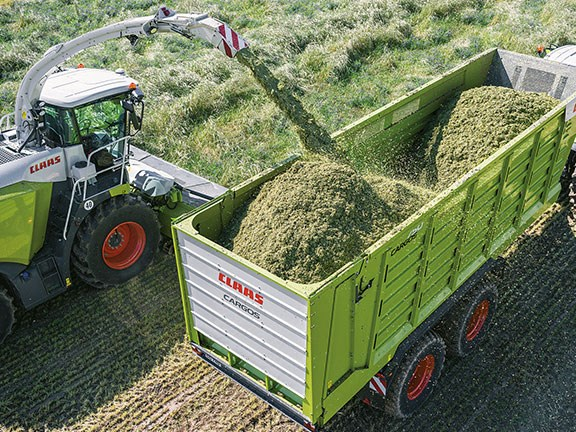 Claas Cargos 700 forage transport wagon