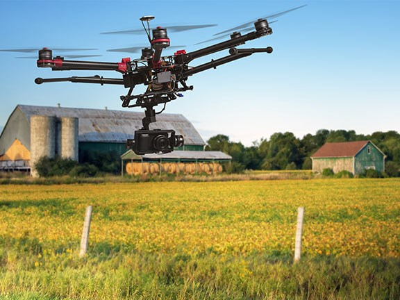 Data which can be provided by drones should prove invaluable to the agriculture sector