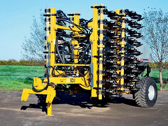 Serafin's own Ultisow Narrow Fold Series 2 single-disc seeder