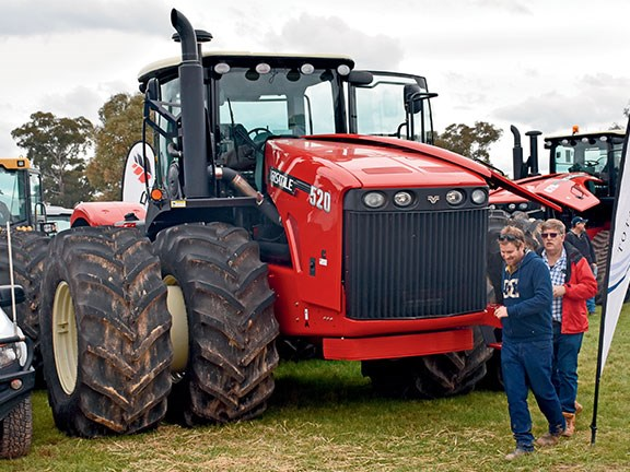 Australian tractor sales bounced back in August and are now 10.8 per cent ahead in dollar terms on last year