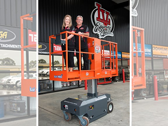 Latrobe Valley Forklifts Rob and Kelly Mustoe
