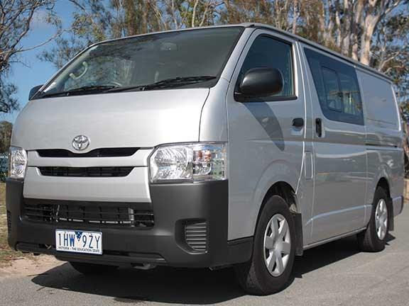 0965df7614 Review  Toyota HiAce LWB Crew Cab van