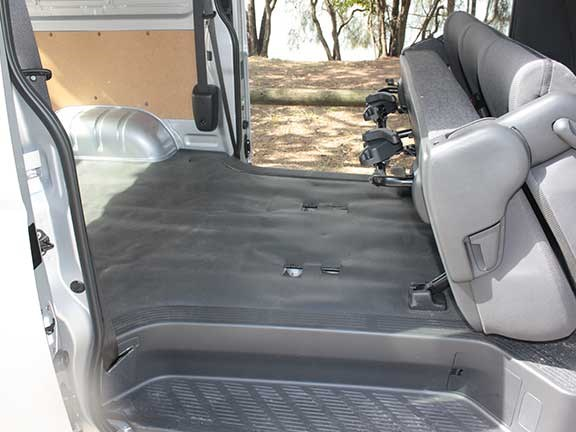 Toyota HiAce rear seats