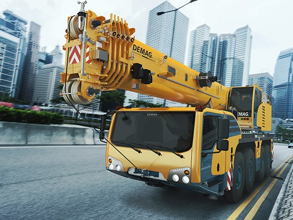 Demag AC 100-4L all terrain crane