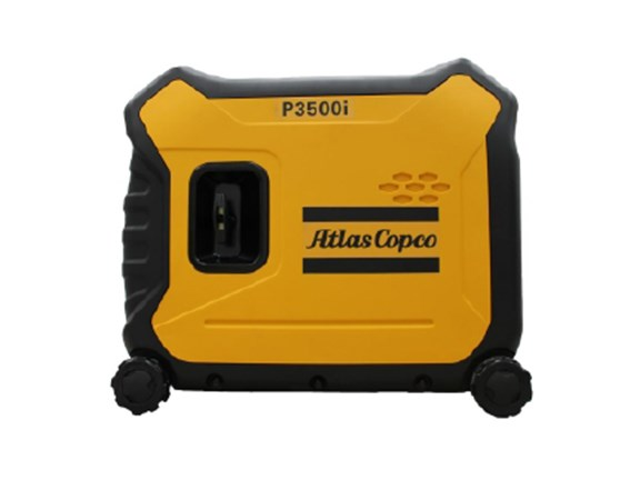 Atlas Copco P3500i prtable inverter power generator.