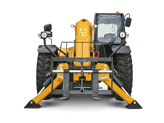 Telehandlers can be used for lifting, placing and loading.