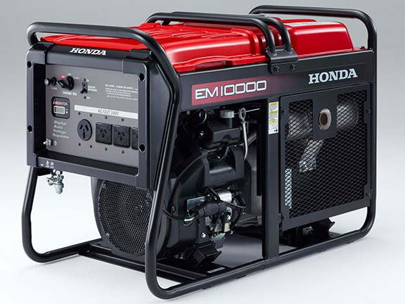 The Honda EM10000 generator will be available in Australia from February 2017.