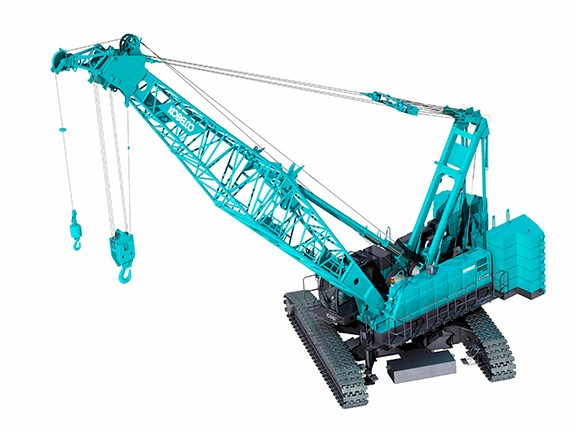 The Kobelco CKE1350G crane.
