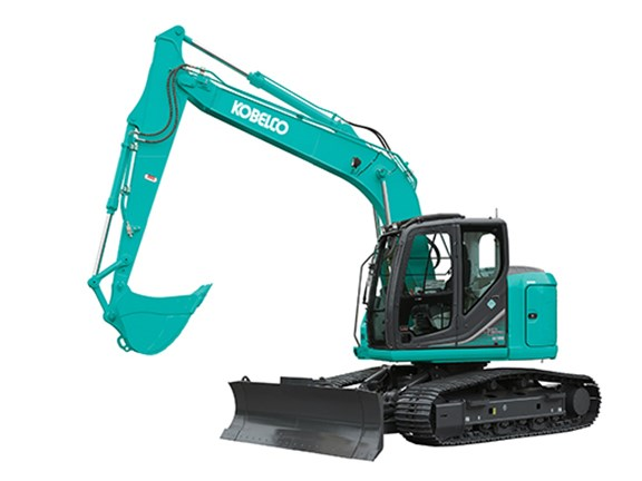 The Kobelco ED160 'Balde Runner' excavator.