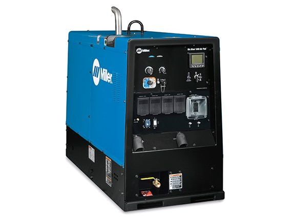 The Miller Big Blue 600 Air Pak welder/generator