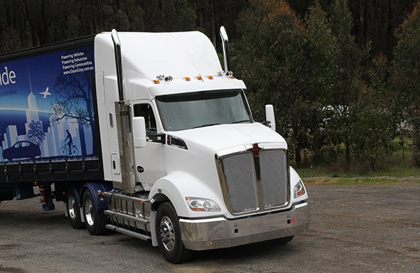 Bigger and better. Kenworth's exciting new T610.