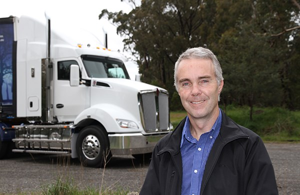 Paccar Australia sales and marketing director Brad May.