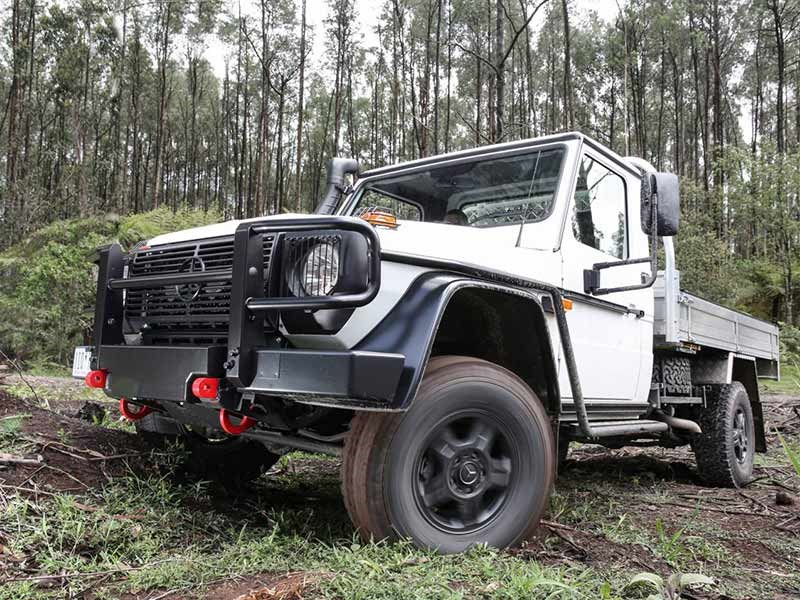 Mercedes Benz G Wagon Ute Launch Review TT