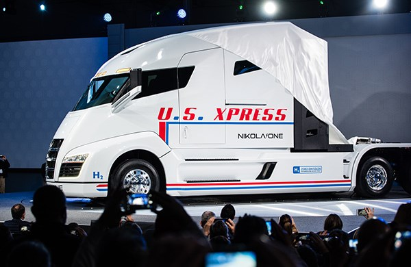 Nikola Motora Nikola One Launch Trade Trucks2