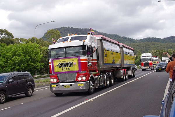The McMahon's Transport People's Truck was the second-highest lead truck bidder.
