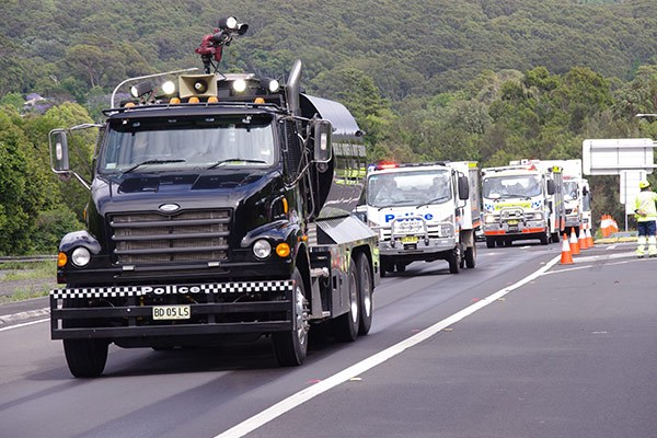 The NSW Police are big supporters of the convoy.