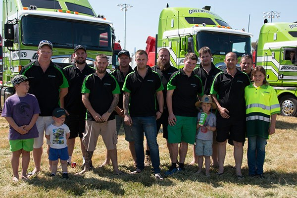 The Greenfreight crew.