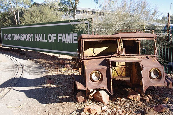 Welcome to the Road Transport Hall of Fame in Alice Springs.