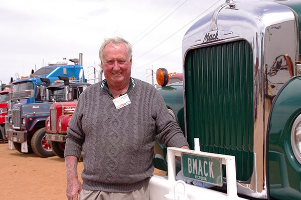 Archie Baines brought his B-model Mackup from Broadford.