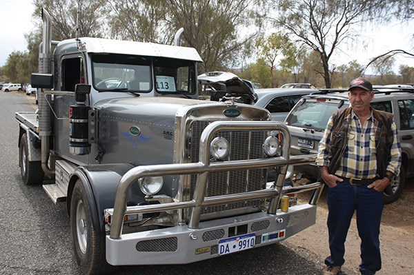 Colin Buffon from Western Australia built this pick-up based Peterbilt 359 replica. It sits on a Chev C20 chassis and sports a 6.2-litre GM V8 diesel.