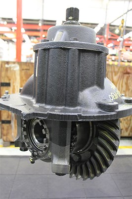 A diff head, containing the differential gearing, ready to be lowered into the diff housing.