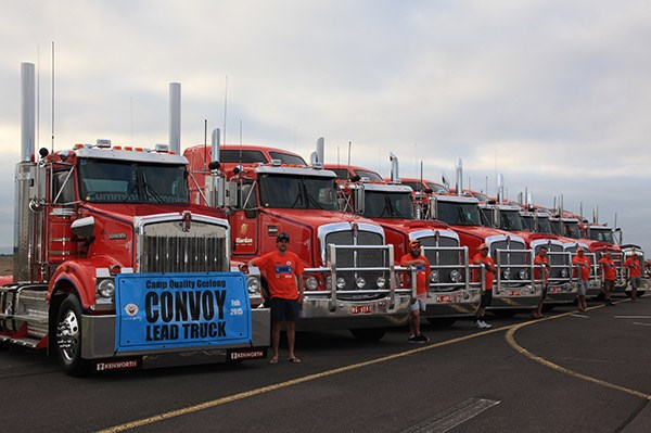 Camp Quality Convoy Geelong TradeTrucks8