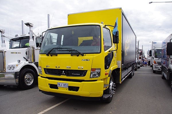Murrell Distribution flew the flag for Fuso.