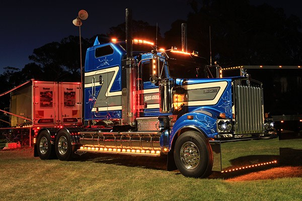 Shining light: Trans Australia Livestock Transport's T909.