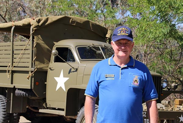Major Graham Docksey urges people with rusting ex-military vehicles to donate them to enthusiasts or museums to ensure they are preserved.