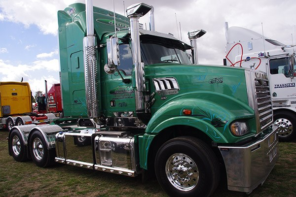 Churchill Transport's 600hp Mack Super-Liner.