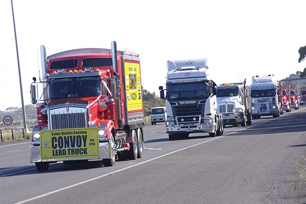Geelong Camp Quality Convoy events TT22