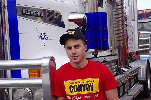 It was a 200km trip for Ramsey James Whelan and Nickel Trading's Kenworth T909 from Rochester.