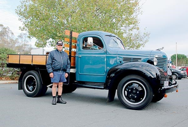 Dave Vassallo travelled with his 1939 Dodge.