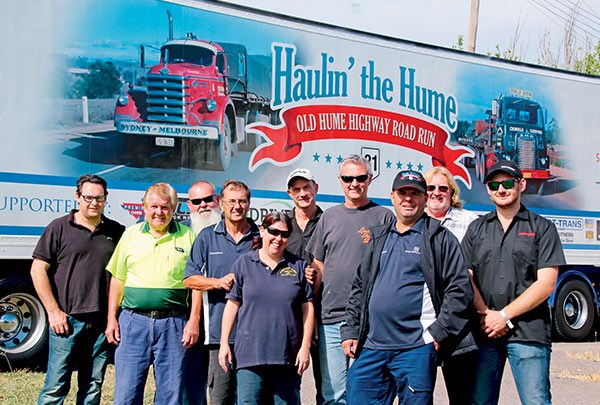 Organisers of the successful 2015 Haulin' the Hume are the toast of the trucking industry.